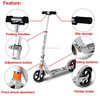 New scooter freestyle/extreme adult freestyle pro scooters