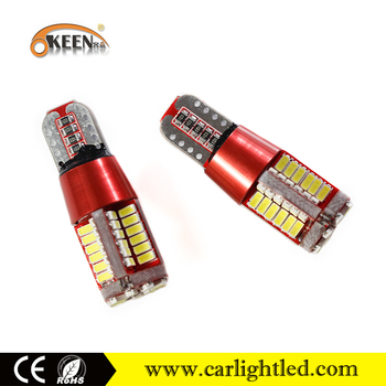 Canbus Error Free LED Bulb T10 3014 57SMD 12V Car Door Lamp Auto Clearance Light