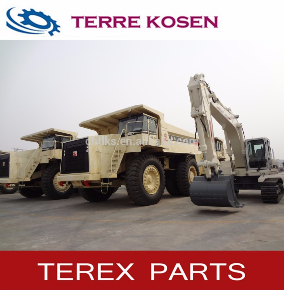 Terex dump Truck New and used TR100 TR60 TR50 3307 3305 3303