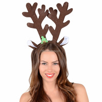 Party Fancy Dress Accessory Brown Reindeer Antlers Christmas Hairband Reindeer Headband Craft