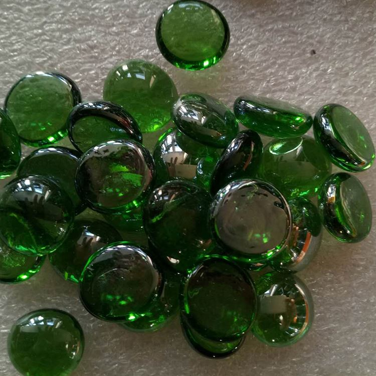 Unique Design Crystal Flat Bottom Glass Beads For Swimming Pools