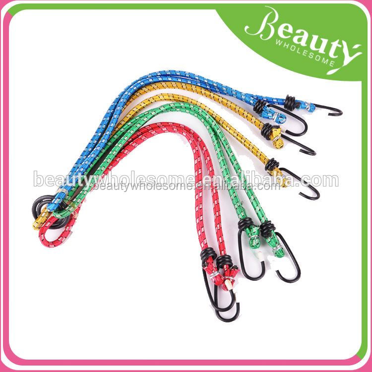 Bungee Cord Strap,Hot 17 Elastic Bungee Straps Cords With Carabiner Hook Luggage