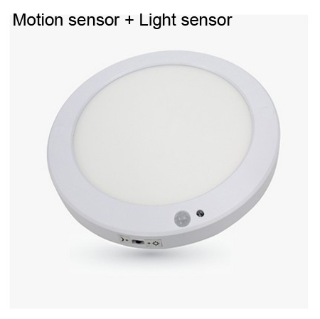 2018 18w motion sensor light sensor ceiling led slim round panel 450 mozeypictures Gallery