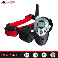 1000M Electronic Beeper Shock Pet trainer Remote DOG TRAINING COLLAR with LCD