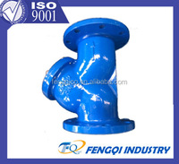 ductile iron fitting for PVC pipe EN545
