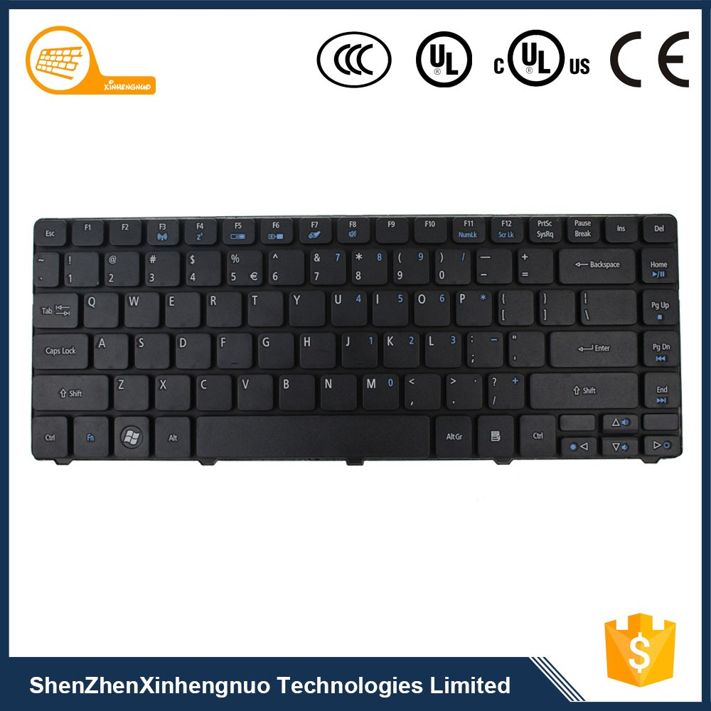 2017 Manufacture New Design Laptop Mechanical Keyboard for Acer