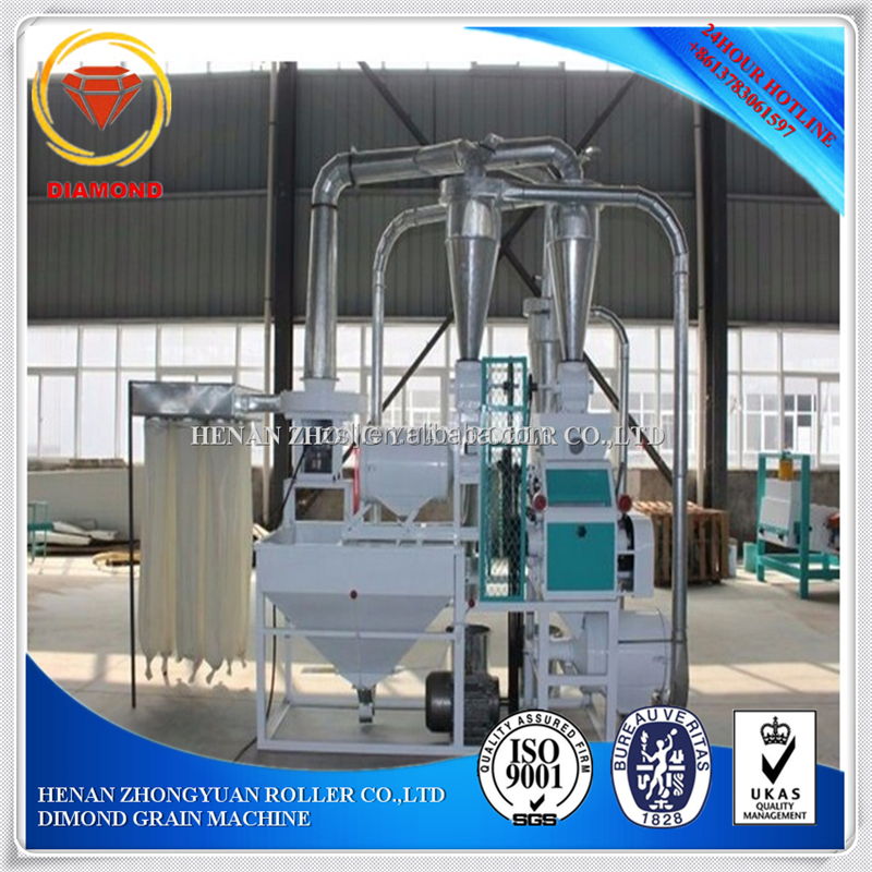 Small Wheat Flour Milling Machine 10 tons per day