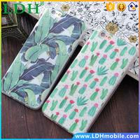 Shell For Apple iphone 5 5s SE 6 6s 6plus Soft TPU Case Cover Print Mandala Flower Daisy Leaf Cactus Datura Cell Phone Cases