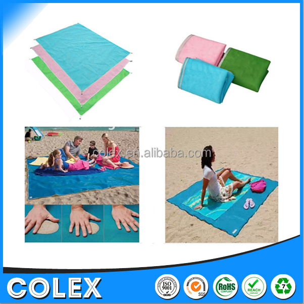 Waterproof Pocket Blanket Outdoor Picnic Blanket Beach Travel Camping Sand Proof Blanket