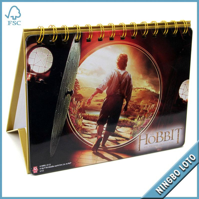 Popular and cheap pocket calendar plastic covers