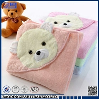 China OEM manufacturer factory hot selling customized hooded baby bath towel