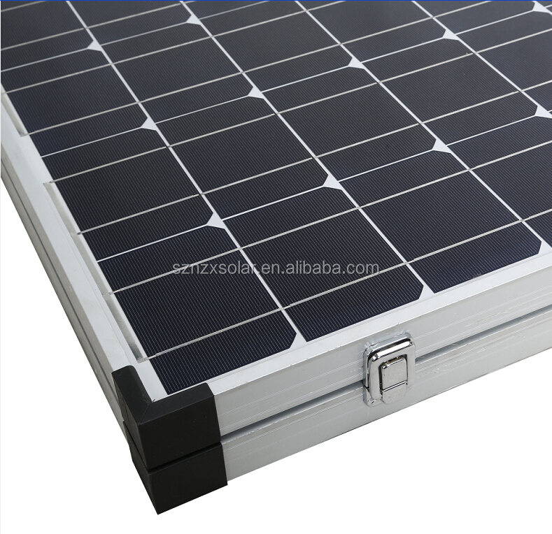 12v 140w folding solar charger for caravan, sola car battery charger