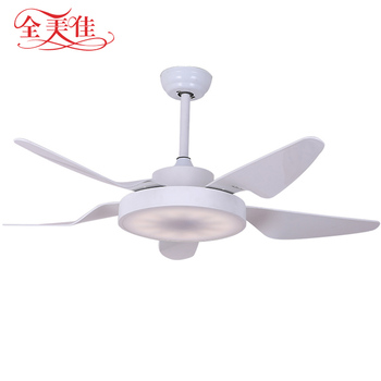Origina Design Decorative Large 56 Inch Low Power Consumption Ceiling Fan with 35 Led Glass Lampshade