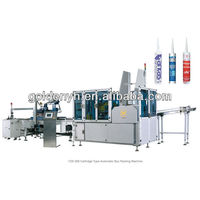 YZX-300 cartridge type automatic box packing machine used for silicone sealant ,PU and adhesive