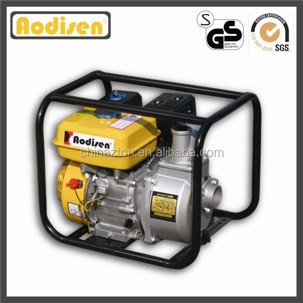 3 inch 80mm Aodisen GP80, CE approved, 6.5hp GX200 honda engine, 196cc, mini agriculture gasoline water pump