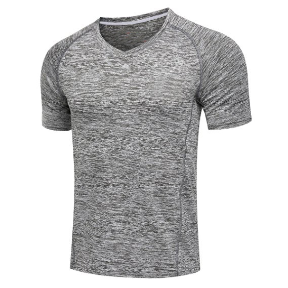 2016 Latest Fashion Promotional 100% Polyester Men's Plain Quick Dry Mesh Sports Short Sleeve T Shirts