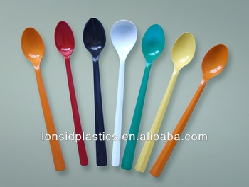 long-handle 3.5gram/piece bulk plastic soda spoons