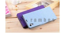 Wallet Leather Case with Card Holder Mobile Phone Bags Covers for Sony Xperia L S36h C2105