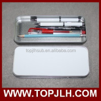 custom printing tin box, custom cheap pencil box case