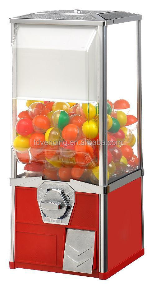 "30"" height toy capsule/bounce ball coin operated automatic vending machine"