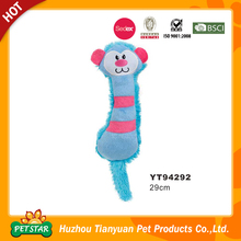 Wholesale Alibaba Monkey Design Cuddly Fabric Crinkly Sound Cat Toys
