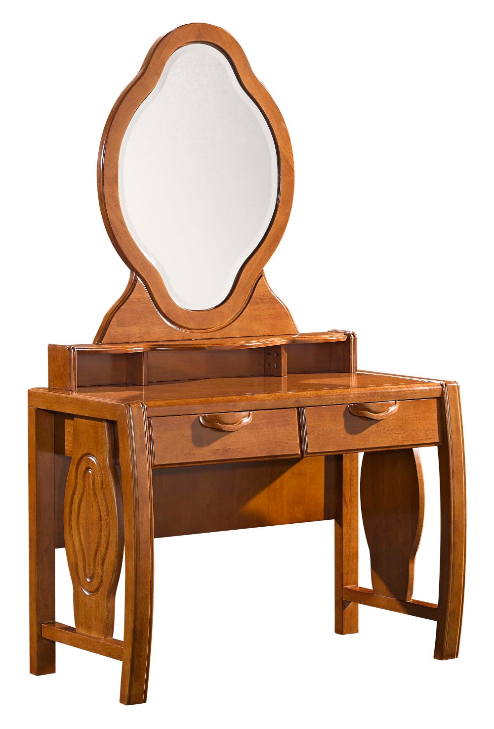 Modern solid wood bedroom furniture dressing table with chair design 8191