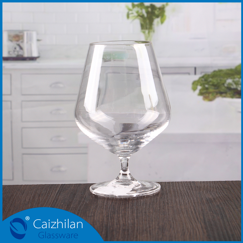 China customized silver gold plated rim wine glass set