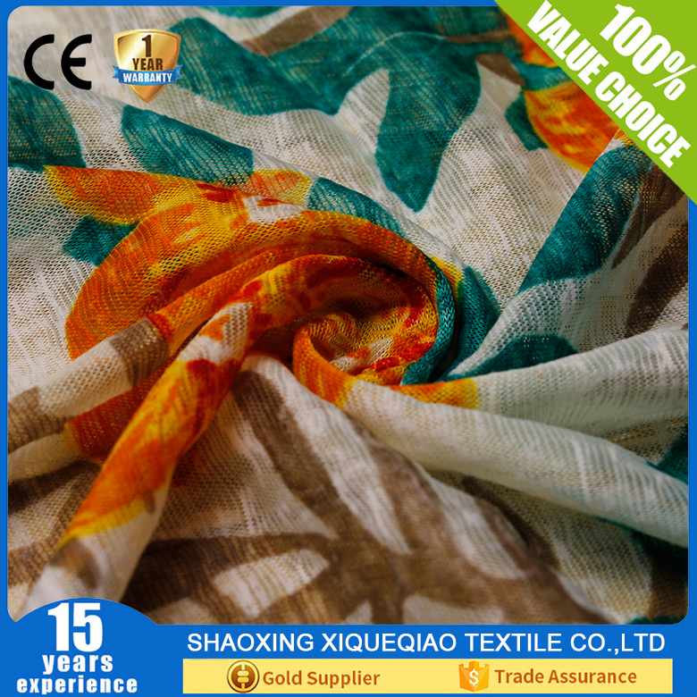Fashion bamboo print fabric