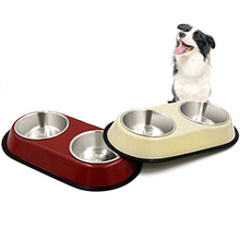 New Arrival High Quality Stainless Steel Cocker Dog Bowl Dog Feeding Bowl