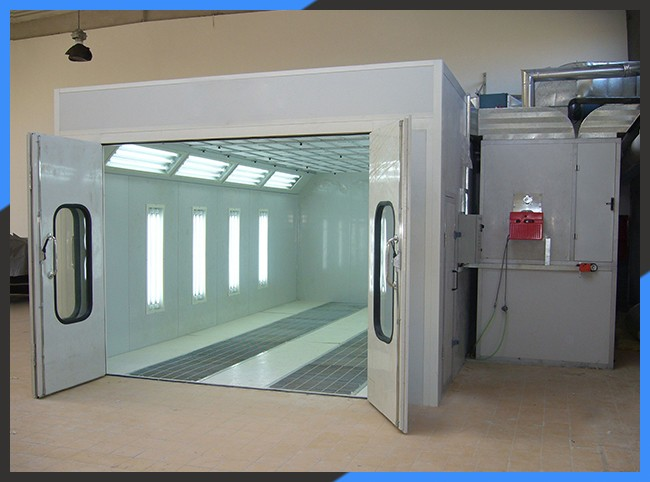 KX-SP3200D Automatic Car Body Painting Oven Spray Booth For Sale