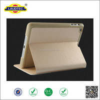 Excellent quality leather flip cover universal tablet case for ipad