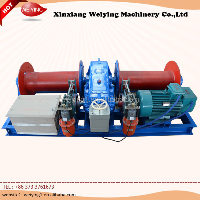 Advance Technology Electric Cable Puller Drum Winch