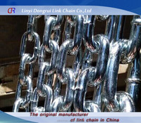 alloy steel stud link chains