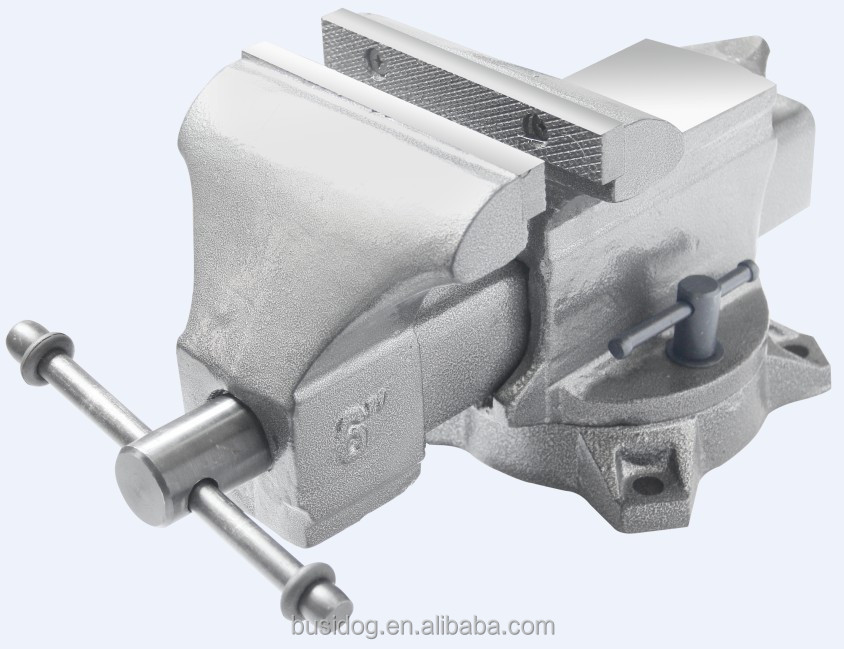 5 Inch Semi Steel Vise/Steel Bench Vise With ISO9001:2000