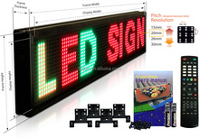 Outdoor scrolling led message sign board programmable led sign