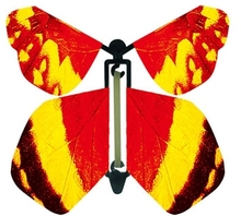 magic atificial flying butterfly/