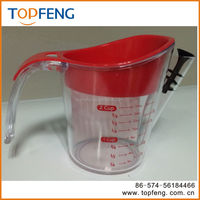 Useful & Durable Gravy separator, Gravy Oil Fat Separator, Strainer Separator Measurer