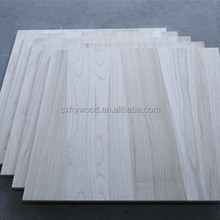 Wholesale wood price buy paulownia solid wood for felt letter board