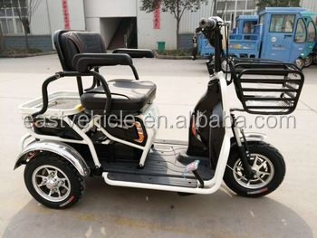 3 three wheel 350w 48v electric tricycle scooter for adult or old
