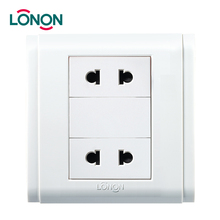 Factory directly Multi Socket Adapter 2 Pin Electrical Sockets