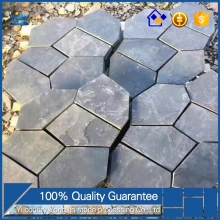 American style quartz irregular shaped slate pavers with low price