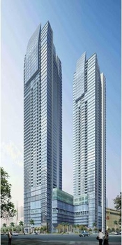 St. Francis Towers Ortigas Condo Philippines Beside Shangri-La Mall