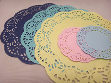 white paper doyleys colored paper doilies for restaurant