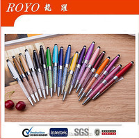 2016 promotional crystal stylus touch pen
