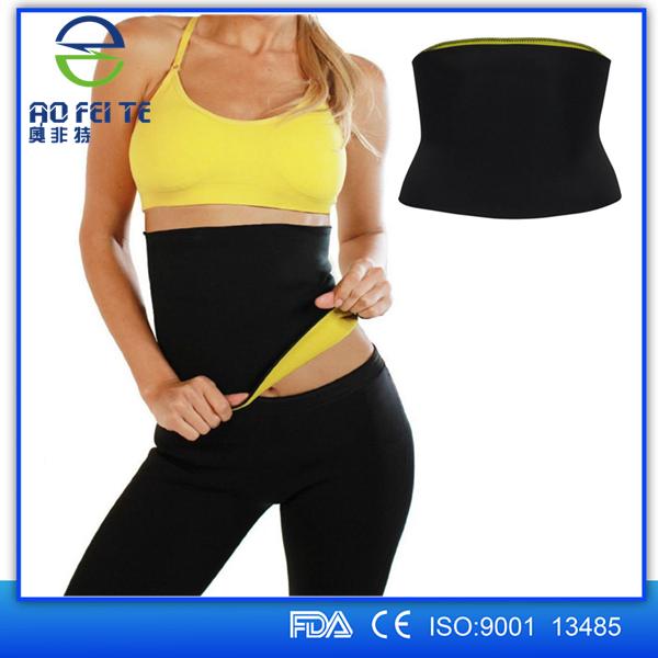 wholesale cheaper women elastic slimming pants waist belts neoprene hot body shaper