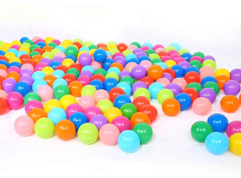 Soft multi-colored Vinyl bulk ball pit balls for ball pool