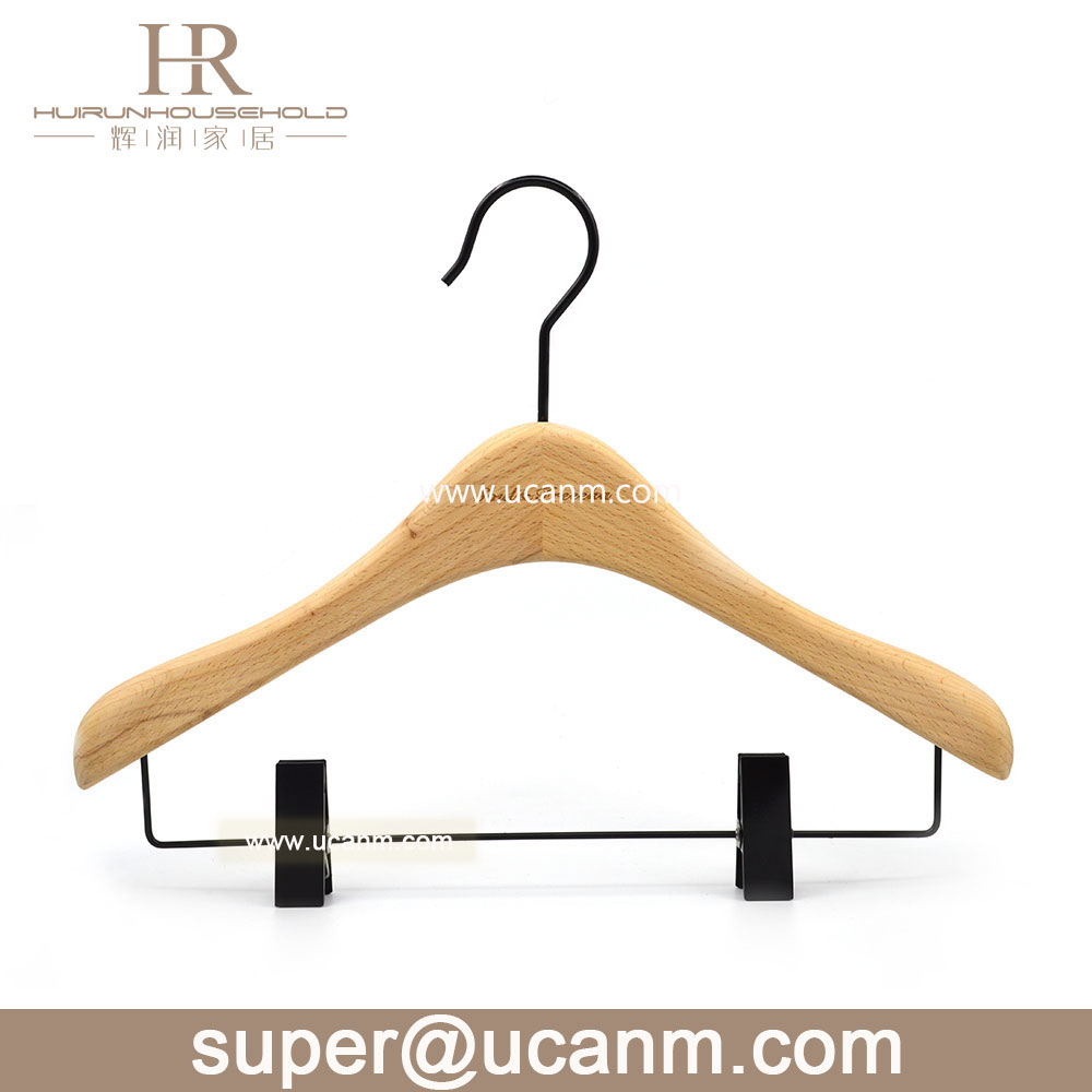 Beautiful Sturdy Suit Coat Hangers with Locking Bar Mahogany clothes hanger wood