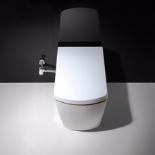 white new design self-cleaning toilet