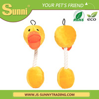 wholesale cute dog plush toys yellow duck