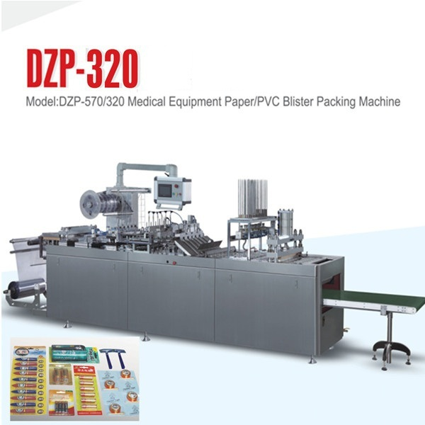 BLISTER CARD HEAT SEALING PAPER PVC BLISTER PACKAGING MACHINERY